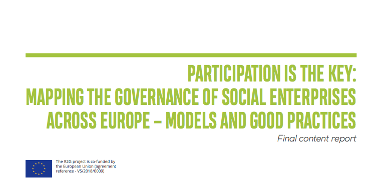 PARTICIPATION IS THE KEY: MAPPING THE GOVERNANCE OF SOCIAL ENTERPRISES ACROSS EUROPE – MODELS AND GOOD PRACTICES are online!